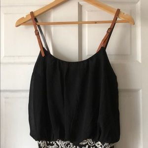 Dresses & Skirts - Black and white romper
